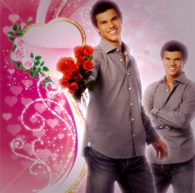 Hey girls..<br /> I made Valentine&#39;s pic of Taylor... do u think i should post this:<br />