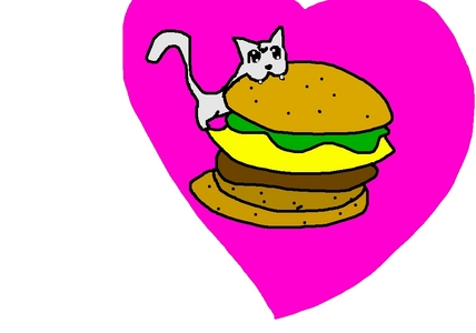 i can has a chez burger? :D RLLY!? :O TANK U TANK U TANK U!!!!!!