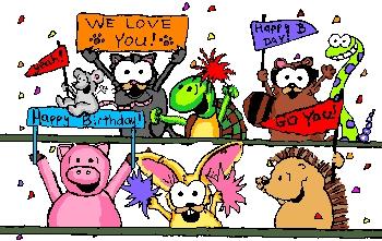 """Happy Birthday to you, Happy Birthday to you, Happy Birthday dear Paget, Happy Birthday to youuuuuuu"