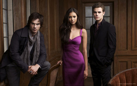 I Suggest :The Vampire Diaries! Cast,Characters,Couples.