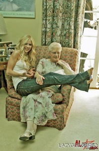 That took loong time for me to search! Between she looks soo cute with her grandma! Well i want