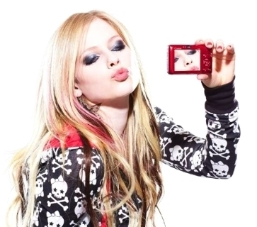 Ummmm I want a pic of Avril in a tank top.