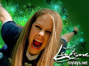 here u go i want a pic of avril riding a skateboard