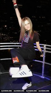 Is this weird enough? I want a pic of Avril with Travis Barker.