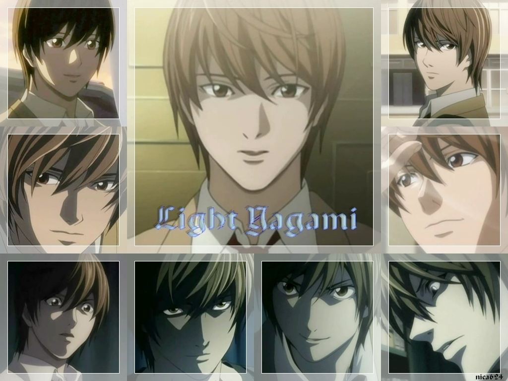 death note light yagami characters