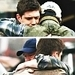 again its small but its the only one i could find. Dean with a young John winchester
