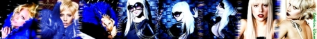 My 2nd Lady Gaga Banner! (Same Pics With Different Effects)