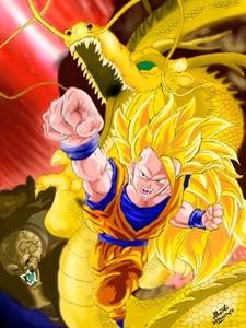 nice pics heres Goku ss3