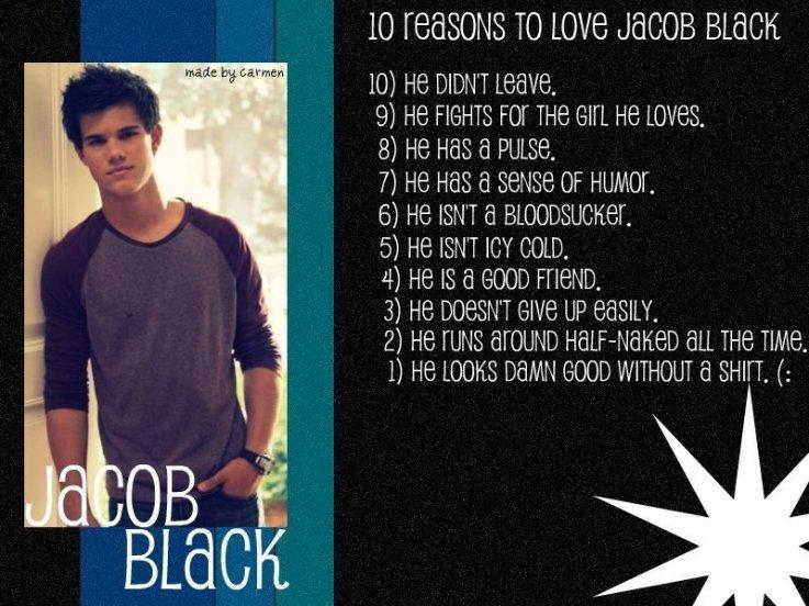 jacob quotes - Jacob Black - Fanpop