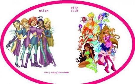 I SUPER TOTTALY HATE THIS FIGHT W.I.T.C.H. AND WINX SAY NO TO WINX VS W.I.T.C.H.(EVEN THOUGH I DON'T