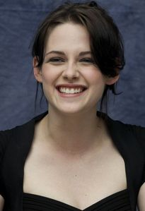 I had to get this picture up before anyone else got to it. My favorite happy picture of Kristen.