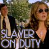 Our 가장 좋아하는 Slayer on duty. Funny scene, hehe.