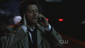 """""""This isn't funny Dean, the voice says I'm almost out of Minutes"""""""