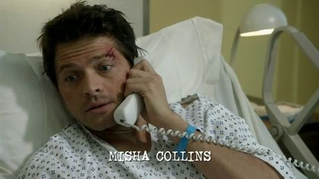 OMG a phone with a cord!! Been a while since I seen one of those xD Haha it's got his name in too ♥
