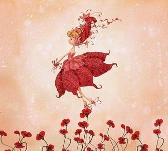 Mackenzie i adore the mohn fairy she's a sweetie like Du hun <3