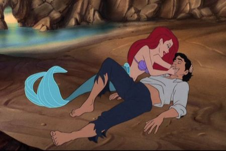 """No look, he's breathing. He's so beautiful.""- Ariel"
