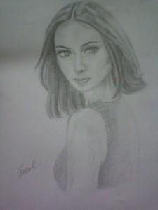 I drew this last night . Hope あなた like it.