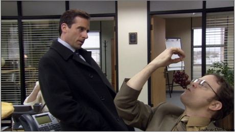 How about Creed with his black printer ink dyed hair?