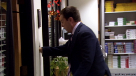 How about Dwight dressed as Jim?