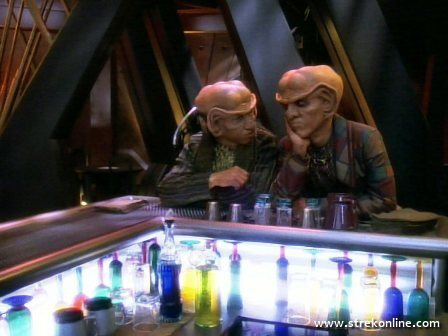 Quark: Now I know we&#39;re doomed.<br /> Rom: Why, brother?<br /> Quark: Rule of Acquisition 286: When M