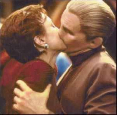 1. TOS character...Scotty 2. DS9 character... Odo 3. ENT character... Archer 4. VYG character... The