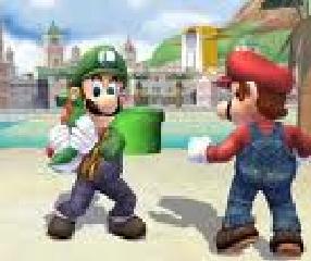 Weegee...? Mama Luigi!