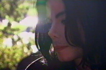Michael in his giving tree (back in 2002).. Michael wanted to show his giving tree to Martin Bashir..