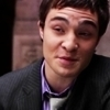 Chuck Bass: [i]As much as I amor hearing about not needing material things from a guy with *that* muc