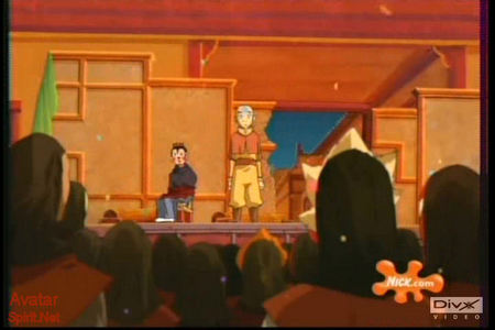 closest pic I can get find me a pic of Zuko in that ninja outfit in the Souther Raiders episode