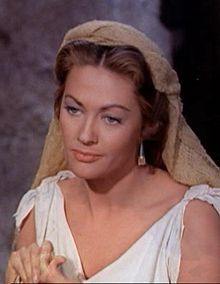 Y - Yvonne decarlo  the picture is in ten commandment as sephora  can't find with x for first name of