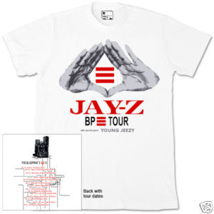 Hot blueprint 3 tour t shirt jay z fanpop jay z hot blueprint 3 tour t shirt malvernweather Images