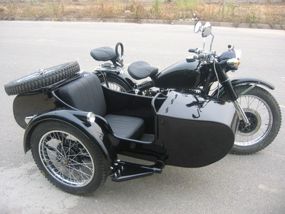 Luke's sidecar duka can offer wewe the antique changjiang750 sidecar motorcycle, we have done this nea