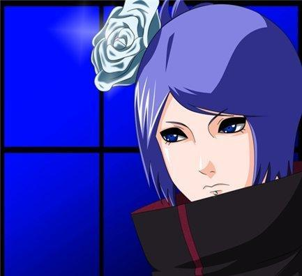 """Rangiku what is it?"" ""Oh there you are Konan"" ""What did you want to tell me"