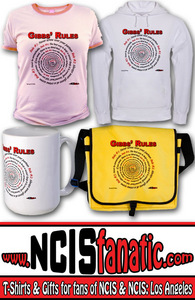 NCIS GIBBS' RULES T-SHIRT—Spiral Design—Rule Fifty-One www.NCISfanatic.com & Store at http://Sto