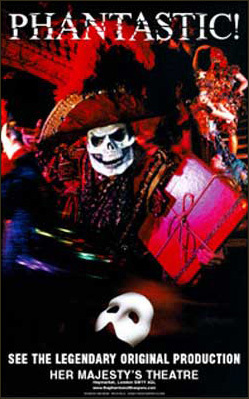 """Hi guys, I have been looking for a """"Phantom of the Opera""""-poster for a very long time and I am hopin"""