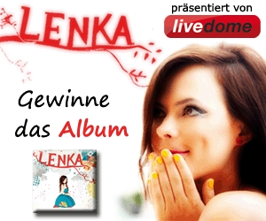 Win a lenka album at: http://www.livedome.com - only available until 16.07.2010: