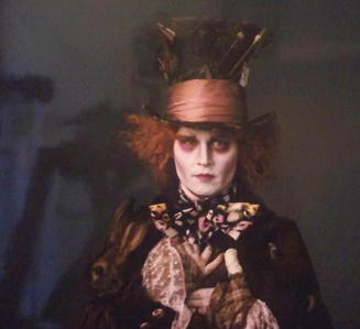 Remember when this movie was first announced? Tim burton to direct, and Johnny Depp to play the Mad H