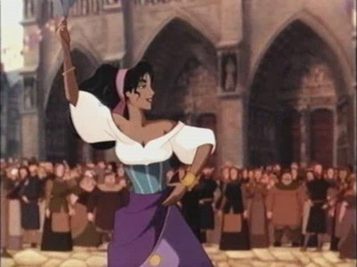 For some time right now I'm wondering how old was Esmeralda in the first Disney's Hunchback of Notre