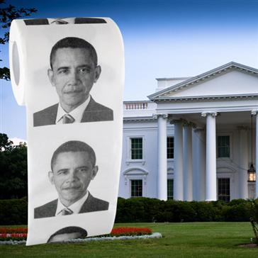 I never knew they made it! I found the Obama toilet paper on www.BaronBob.com theres alot of other co