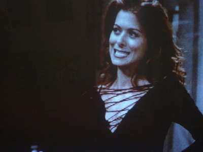 Does anyone know where I could buy a shirt that was worn by Grace on the show?  It's a black shirt wi