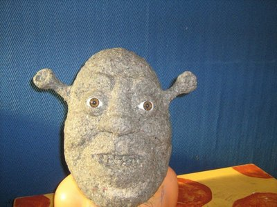 hello everybody ! shrek is my favoriete character ! I make it in papier mache , it will be finish