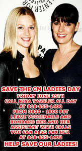 FRIDAY JUNE 25TH. CALL NINA TASSLER AT 818-645-1400 ALL 日 LONG FROM 0800-1800 PST. LEAVE VOICEMAIL