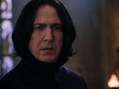 Rules: - The first person writes a sentence someone could say to Snape (you may also add a certain