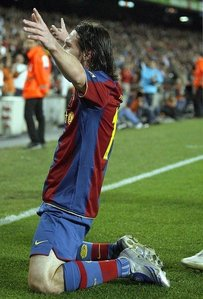 Hey =]<br /> <br /> Here you can tell us about your Favorite Goal By Messi, tell us why you like it,