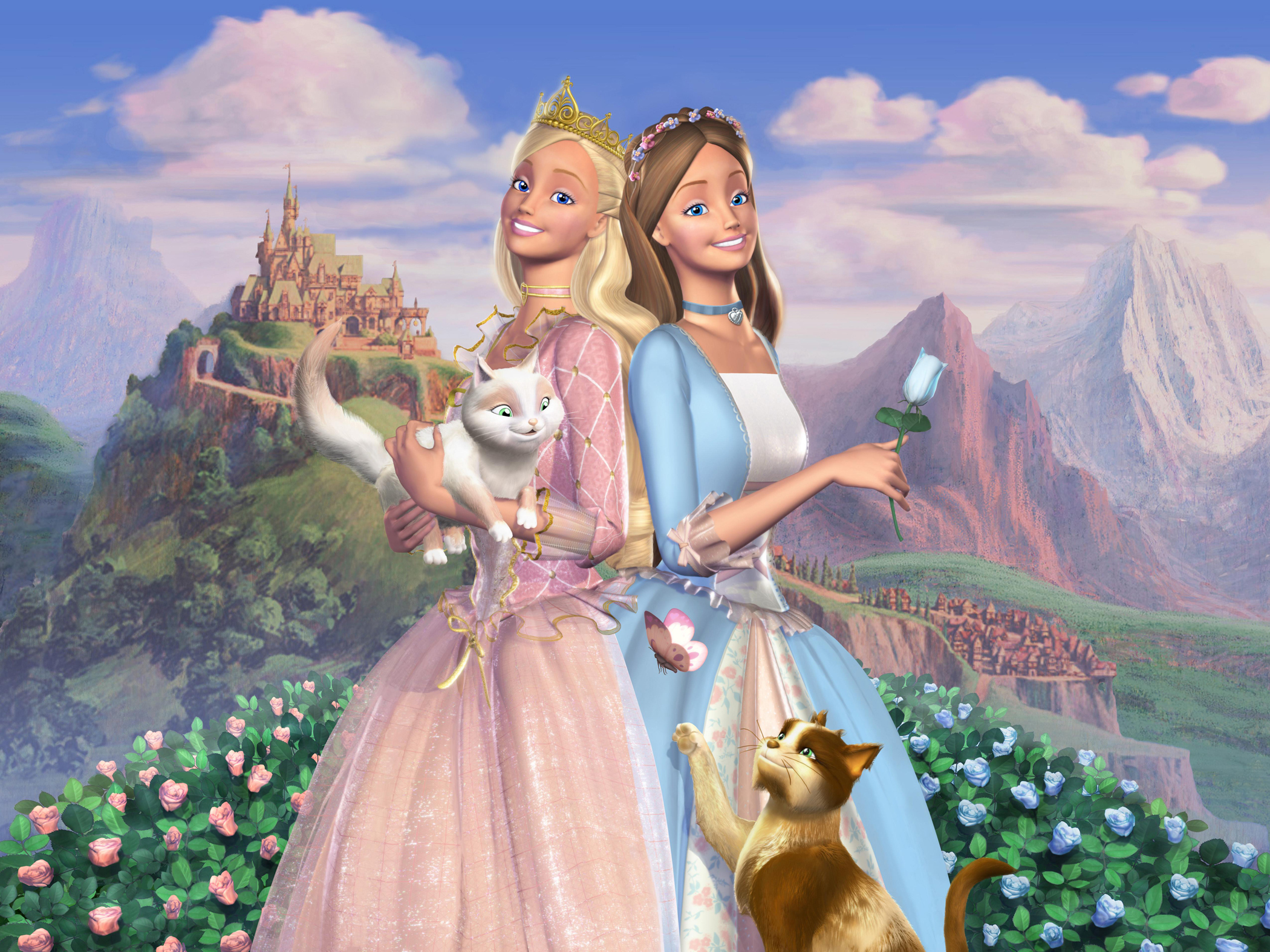Barbie Princess and The Pauper Wallpaper