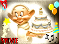 *SYLVIE ENJÖY THE PARTY BIRTHDAY CAKE* VICKY - sweety-babies screencap