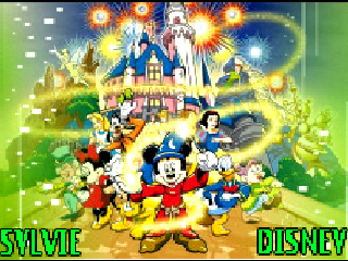 KEEP SMILING wallpaper titled *SYLVIE'S MAGICAL WÖRLD ÖF DISNEY* VICKY