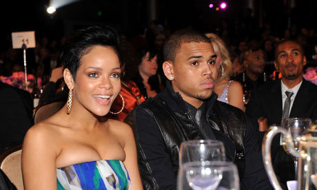 Chris Brown and Rihanna wallpaper titled ''