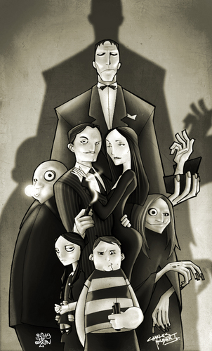 Addams Family wallpaper titled Addams Family