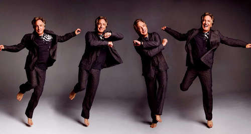 Alan Rickman at foto shoot